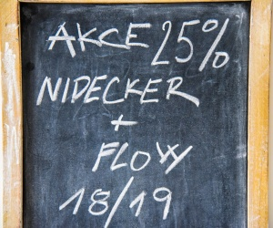 AKCE NIDECKER + FLOW 18/19 SLEVA 25%