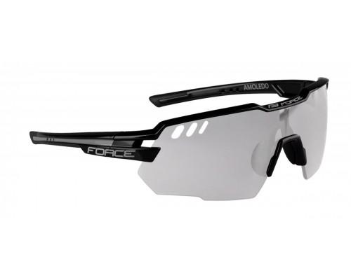 Brýle FORCE AMOLEDO, černo-šedé, fotochromatické skla