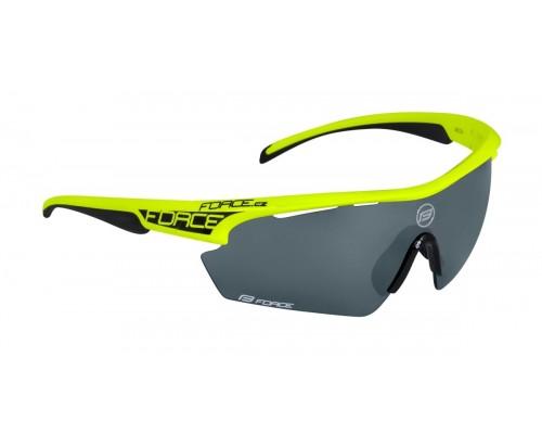 Brýle FORCE AEON, fluo, černé skla
