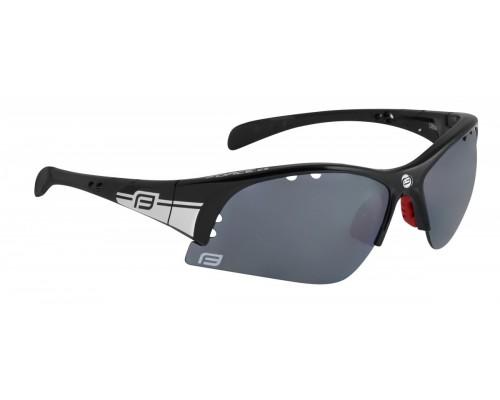 Brýle FORCE ULTRA černé, černá laser skla