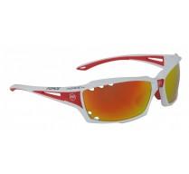 Brýle FORCE VISION bílé, červená skla