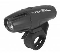 Světlo přední FORCE SHARK-1000  USB černé