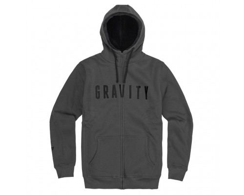 Mikina GRAVITY DYLAN SHERPA CHARCOAL 15/16