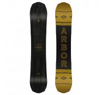Snowboard ARBOR ELEMENT BLACK CAMBER 18/19