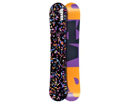 Snowboard RAVEN GRID BLACK 15/16