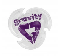 Grip GRAVITY HEART MAT CLEAR/VIOLET 19/20