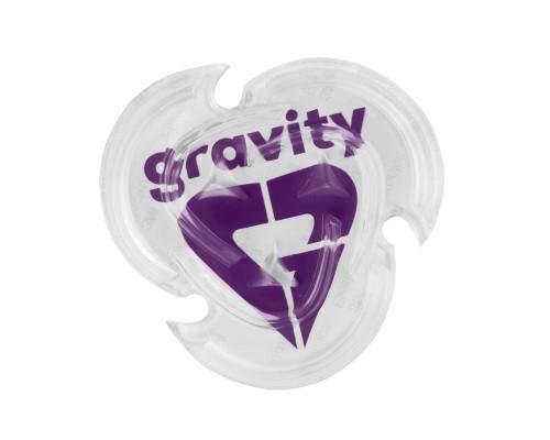Grip GRAVITY HEART MAT CLEAR/VIOLET 19/20