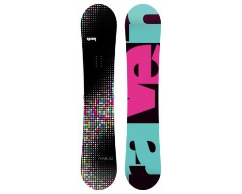 Snowboard RAVEN PEARL BLACK 2017