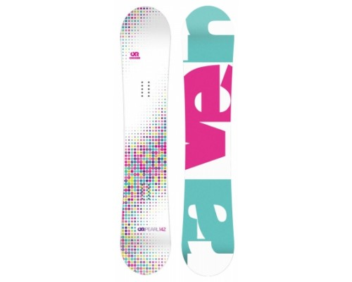 Snowboard RAVE PEARL WHITE JUNIOR 2017