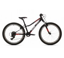 SUPERIOR RACER XC 24 MATTE BLACK/WHITE/TEAM RED 2020