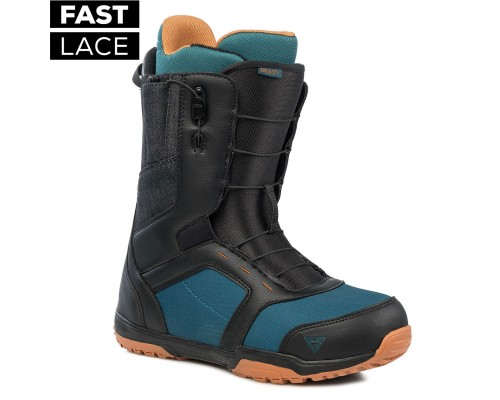 Boty GRAVITY RECON FAST LACE BLACK/BLUE/RUST 19/20