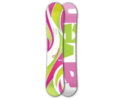Snowboard RAVEN VENUS GREEN/PINK 13/14