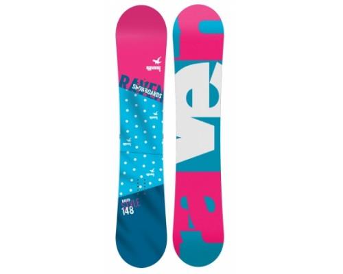 Snowboard RAVEN STYLE 2017