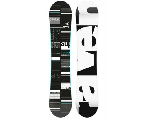 Snowboard RAVEN SUPREME BLACK/MINT 19/20