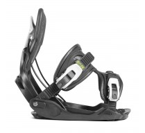 Vázání  FLOW ALPHA CHARCOAL 18/19