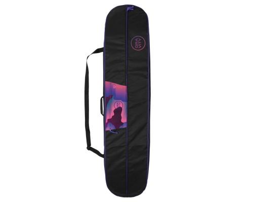 Obal na snowboard GRAVITY VIVID BLACK 19/20