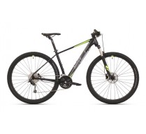 SUPERIOR XC 869 MATTE BLACK/DARK SILVER/NEON YELLOW 2020