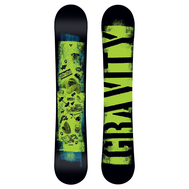 d1cb33c293 Snowboard GRAVITY FLASH 17 18 - Velokram.cz