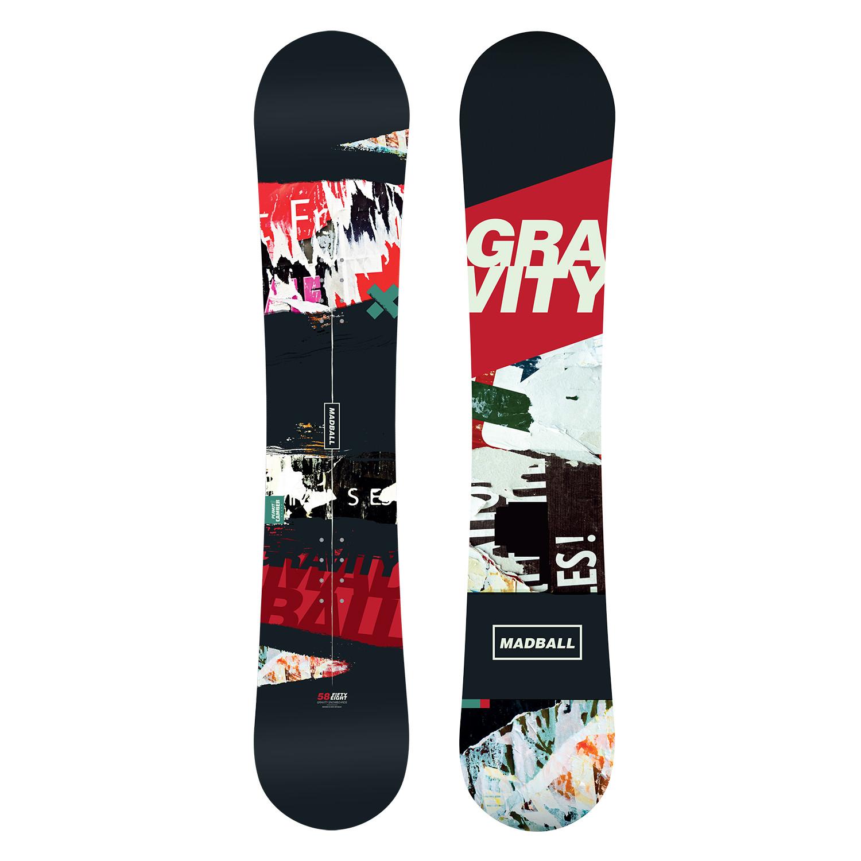 19f74c5dfa Snowboard GRAVITY MADBALL 17 18 - Velokram.cz